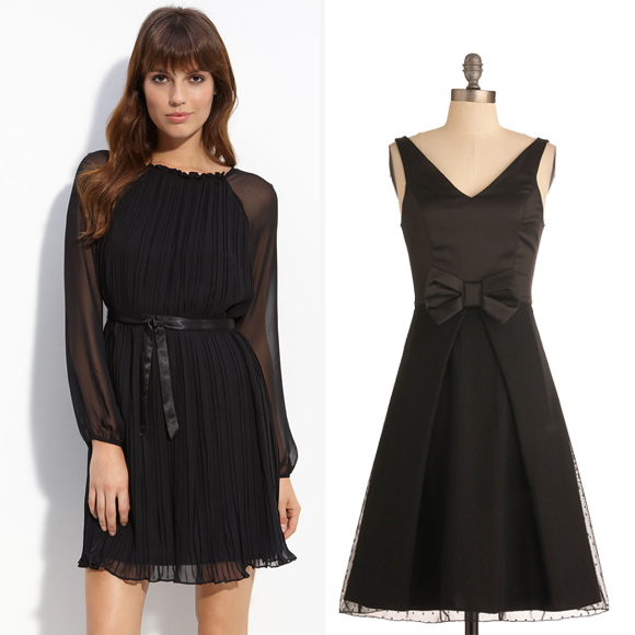 1.Little Black Dress-LBD-Dresses-PICK ON SOME EVERGREEN TRENDS